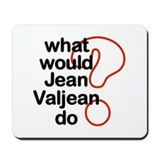 Jean Valjean Mousepad