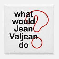 Jean Valjean Tile Coaster