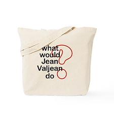 Jean Valjean Tote Bag