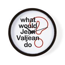 Jean Valjean Wall Clock