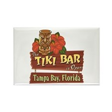 Tampa Bay Tiki Bar - Rectangle Magnet