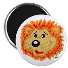 Smiling Lion Face Magnet