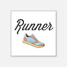 Runner Sticker