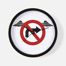 No Rights Wall Clock