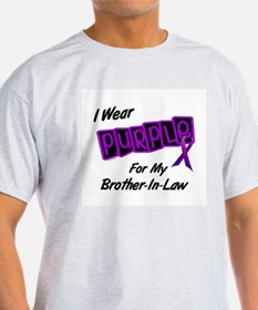 I Wear Purple 8 (Brother-In-Law) T-Shirt