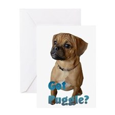 Got Puggle? Greeting Card