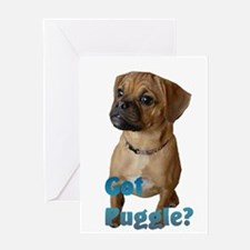 Got Puggle? Greeting Card