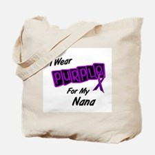 I Wear Purple For My Nana 8 Tote Bag