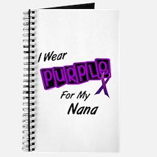 I Wear Purple For My Nana 8 Journal