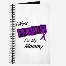 I Wear Purple For My Mommy 8 Journal