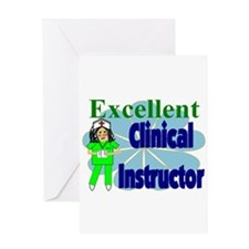 Nursing Instructor Greeting Card