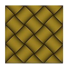 Diagonal Weave 27 Tile Coaster