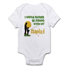 Fishing With Stepdad Infant Bodysuit