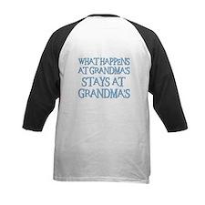 STAYS AT GRANDMA'S (blue) Tee