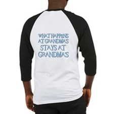 STAYS AT GRANDMA'S (blue) Baseball Jersey