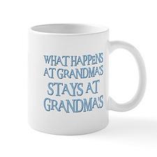 STAYS AT GRANDMA'S (blue) Mug