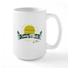 Long Beach Banner Sun Mug