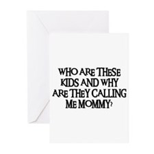 WHO ARE THESE KIDS Greeting Cards (Pk of 20)