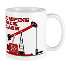 Pumping Jack Flash Mug