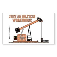 Oilfield Workhorse Rectangle Decal