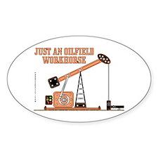 Oilfield Workhorse Oval Decal