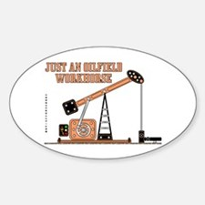 Oilfield Workhorse Oval Decal