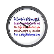 Phlebotomist Wall Clock