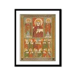 Saints of Kells Framed Print
