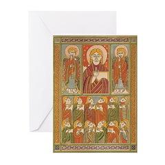 Saints of Kells Greeting Cards (Pk of 10)