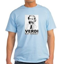 Verdi Is My Homeboy T-Shirt