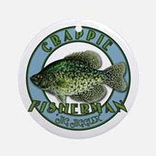 Click to view Crappie product Ornament (Round)