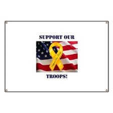 Support Our Troops! Banner