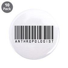"""Anthropologist Barcode 3.5"""" Button (10 pack)"""