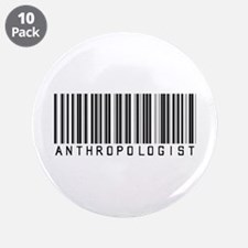 "Anthropologist Barcode 3.5"" Button (10 pack)"