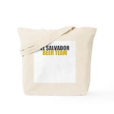 El Salvador Beer Team Tote Bag