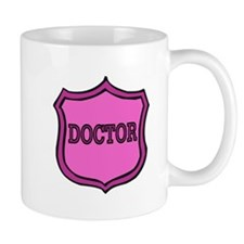 Female Doctor's Badge Mug