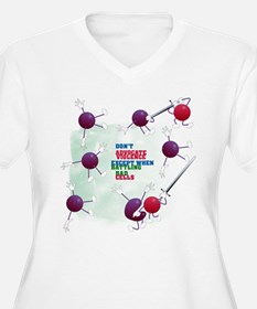 Cancer Survivor: Laughter Kills Bad Cells T-Shirt