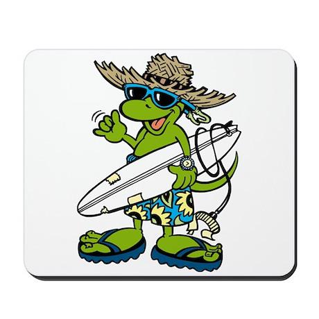 Hawaiian Gecko Mousepad