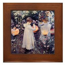 Cute John sargent Framed Tile
