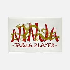 Dragon Ninja Tabla Player Rectangle Magnet