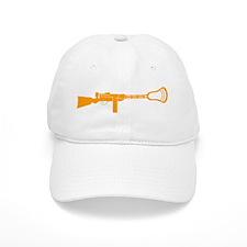 Lacrosse Gun Baseball Cap
