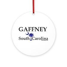 Gaffney South Carolina Ornament (Round)