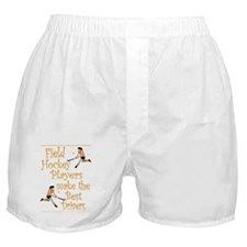 Field Hockey - Orange - Boxer Shorts