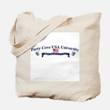 """Party Cove University"" Tote Bag"