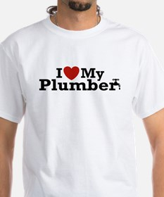 I Love My Plumber Shirt