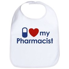 I Love my Pharmacist Bib