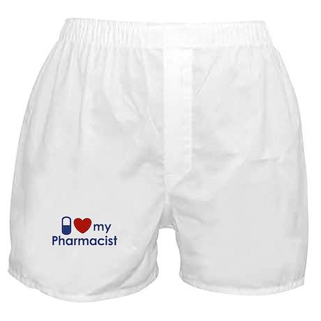 I Love my Pharmacist Boxer Shorts