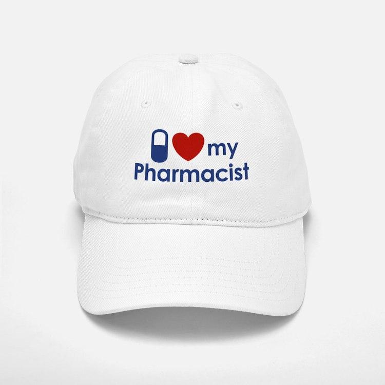 I Love my Pharmacist Baseball Baseball Cap