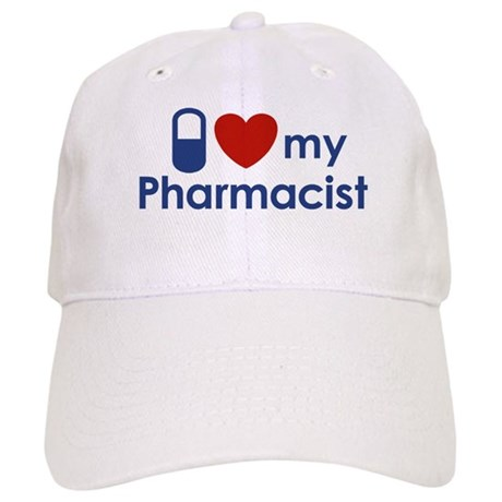 I Love my Pharmacist Cap
