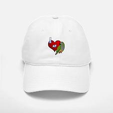 I Love My Patagonian Conure Hat (Cartoon)